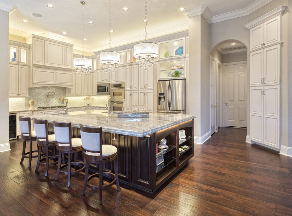 improve home lighting in the kitchen
