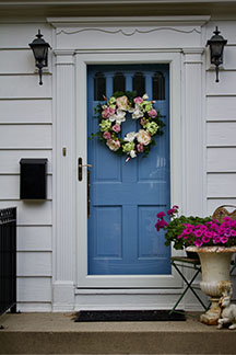 curb appeal on a budget, Sarah Bernard Realty